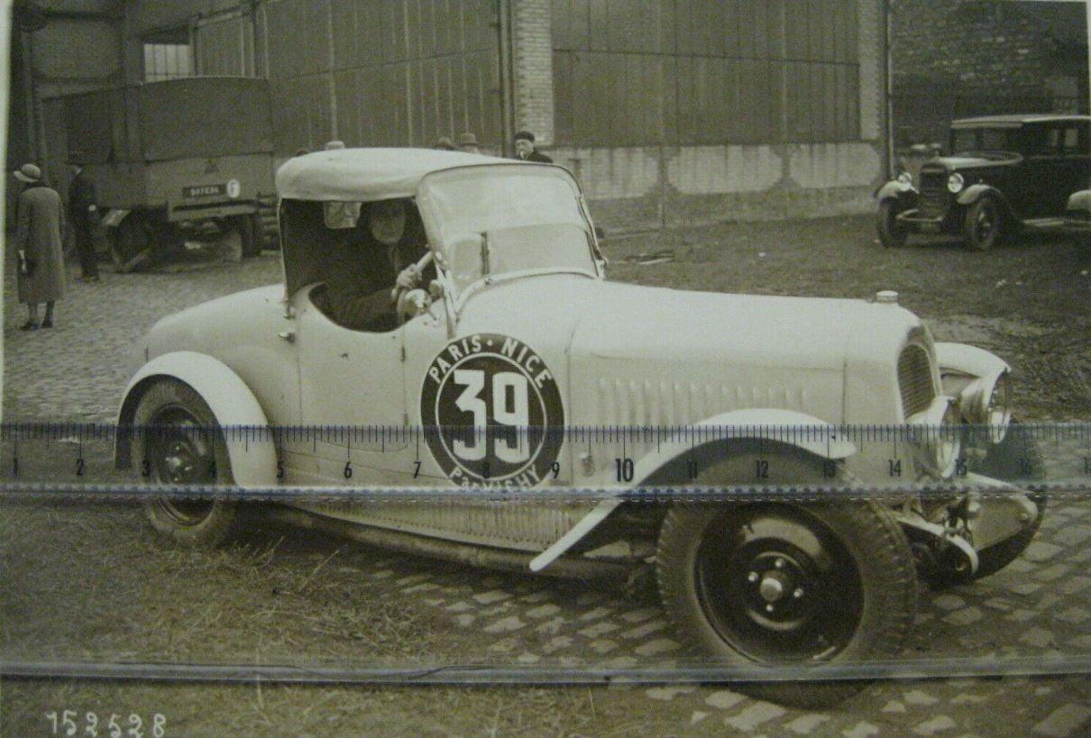 Chenard--1931-Paris-Nice-