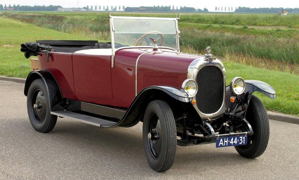 Chenard-Walcker-1926-G-Torpedo-open-