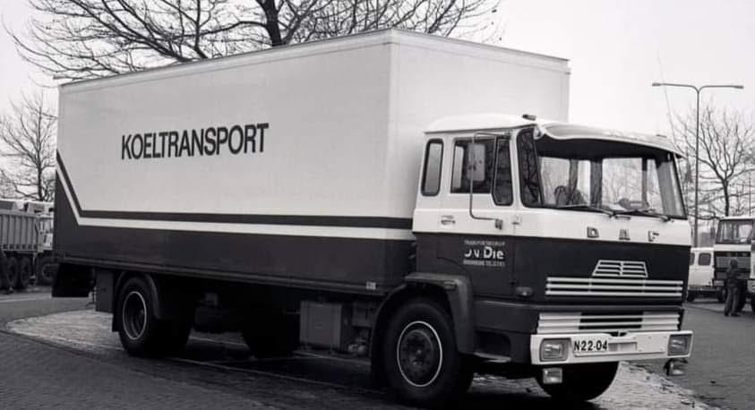 DAF-Koelwagen