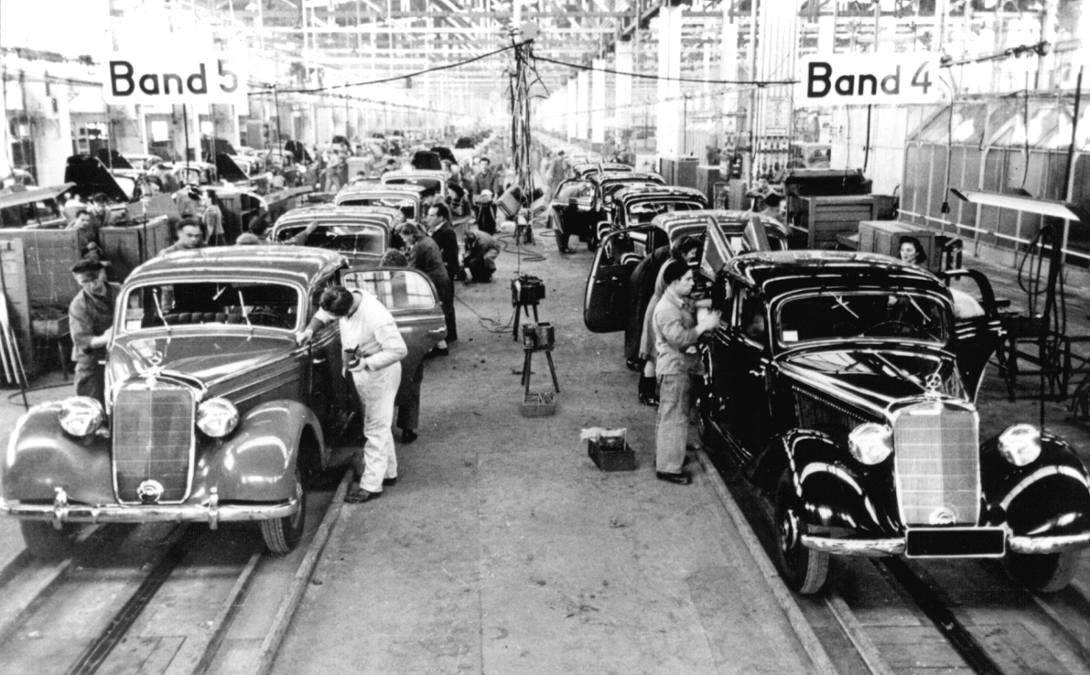 Sindelfingen-Mercedes-Benz-Werk--1949-