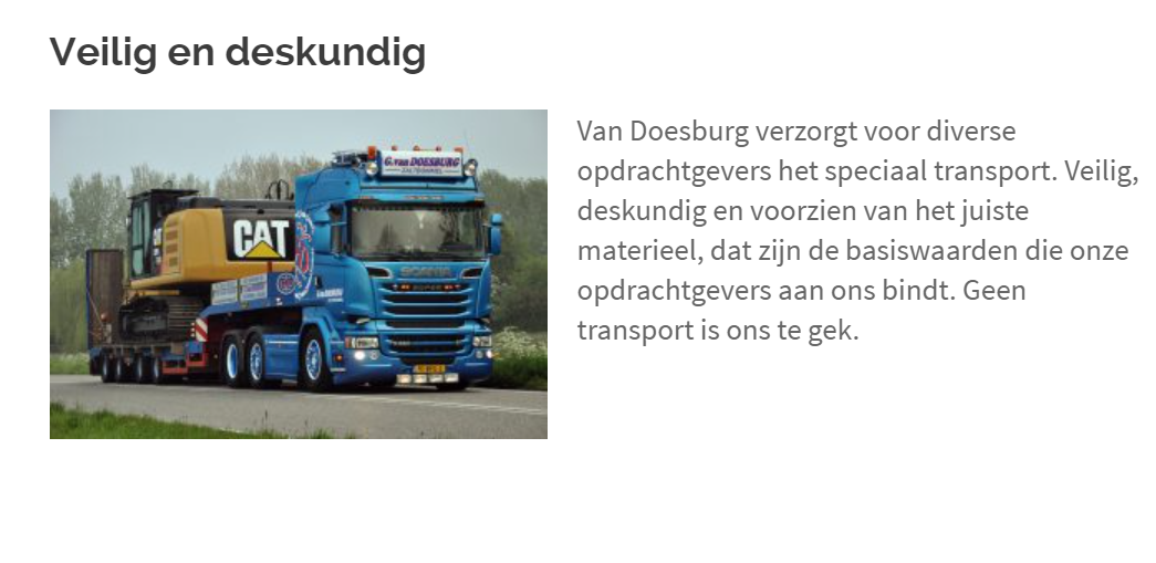 Speciaal-transport-