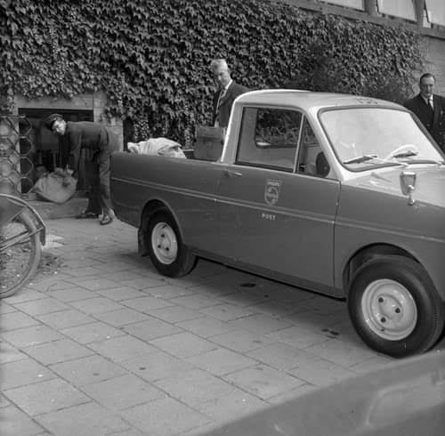 DAF-Postwagen