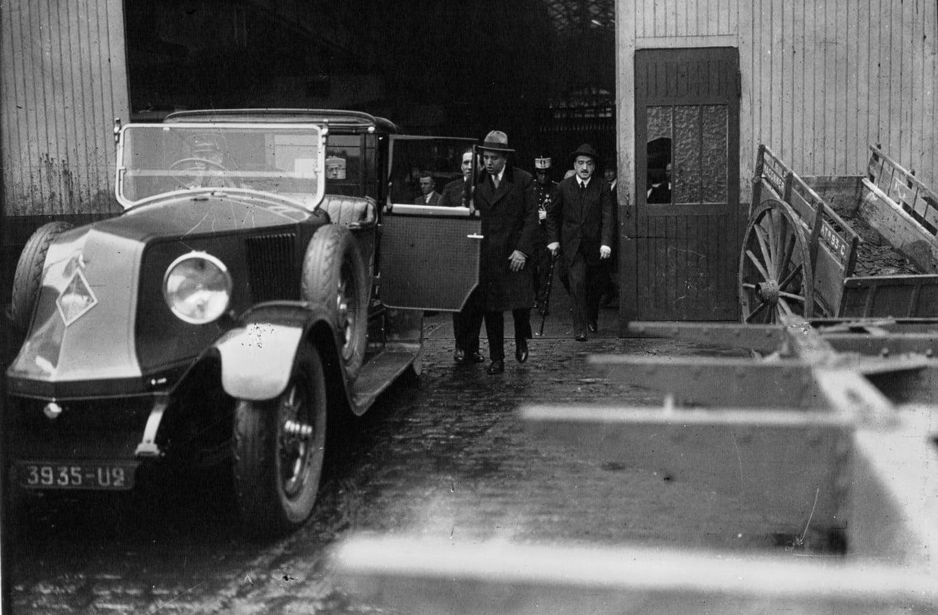 Renault-Fabriek-bezocht--van-de-Spaanse-minister-van-Handel,-de-heer-Aunos