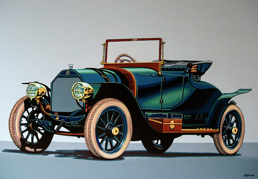 1911-isotta-fraschini-tipo--painting-paul-meijering