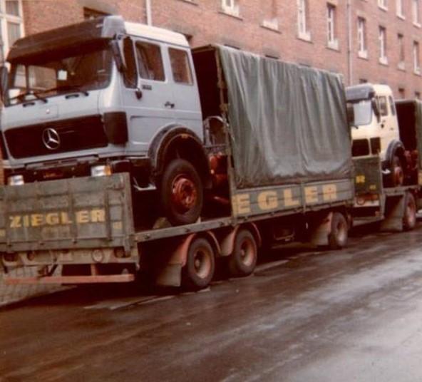 Mercedes-terug-vracht