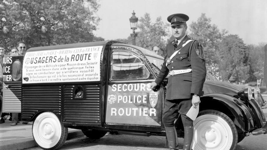 Citroen-Police
