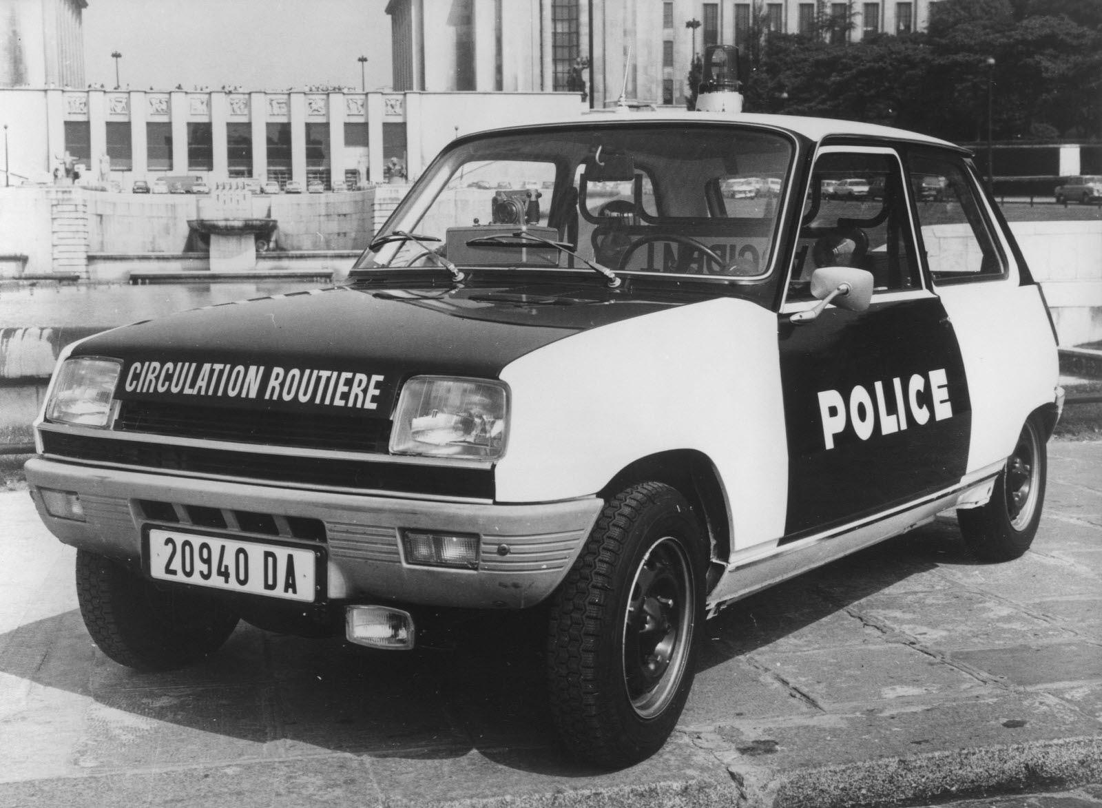 Renault-5-police-en-1975