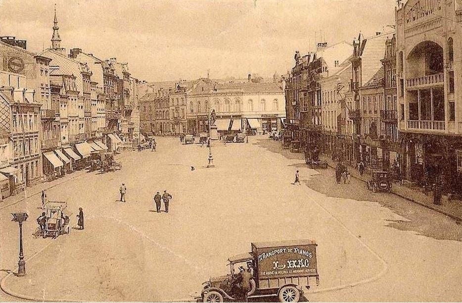 Louis-Hac-pianotransport-van-Andrimont-naar-Verviers-place-du-Martyr