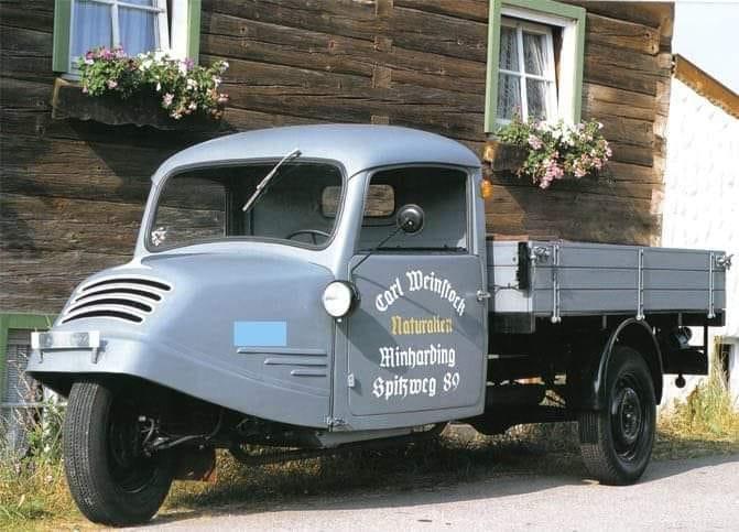 Goliath-GD-750-Three-wheeler--1949-1955