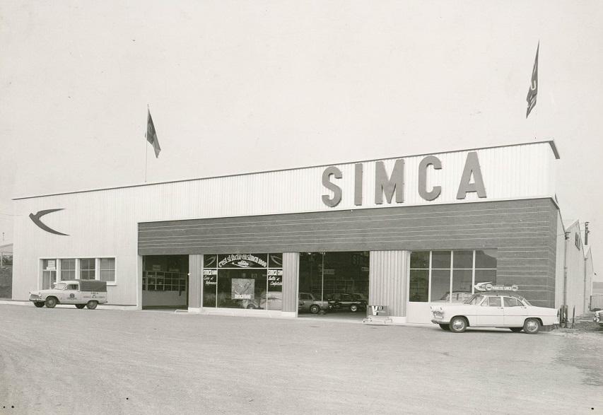Simca-Garage--zone-industrielle-de-kergonan---Brest