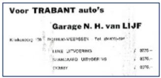 Trabant-dealer