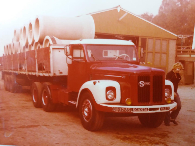 Scania-Vabis-met-een-flinke-vracht