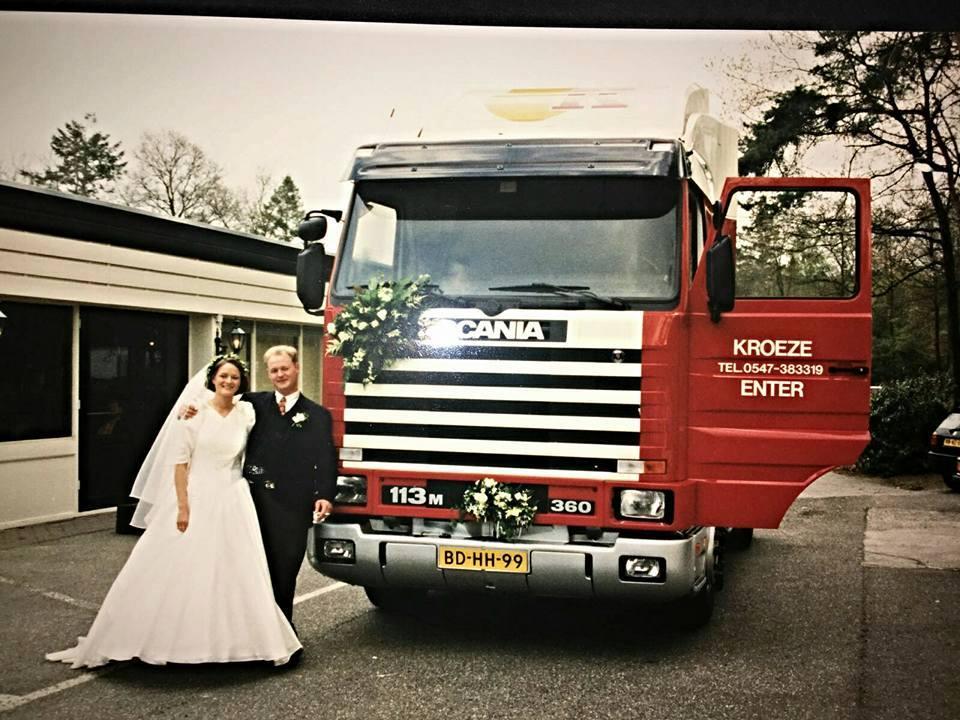 Scania--Trouwdag-Erik-Beltman-en-Rian-Beltman--26-april-1996