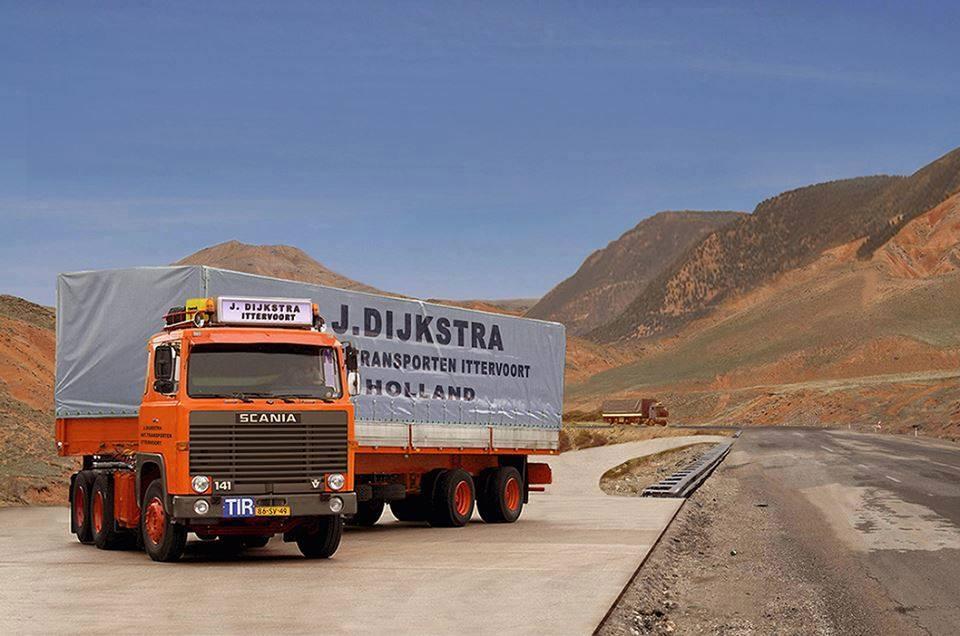 Scania-V8-model