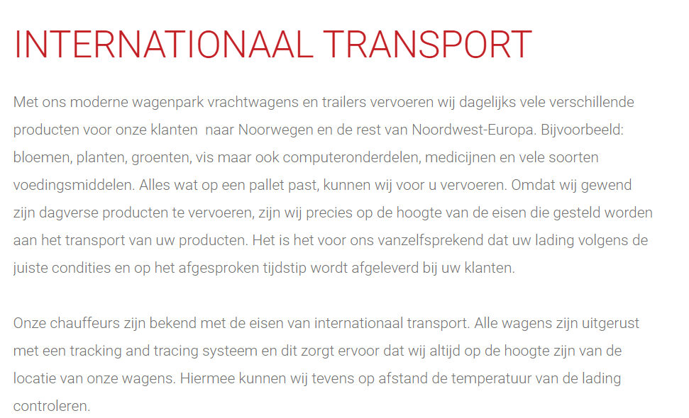 Internationaal-Transport
