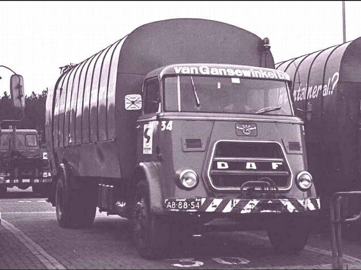 DAF-ophaalwagen