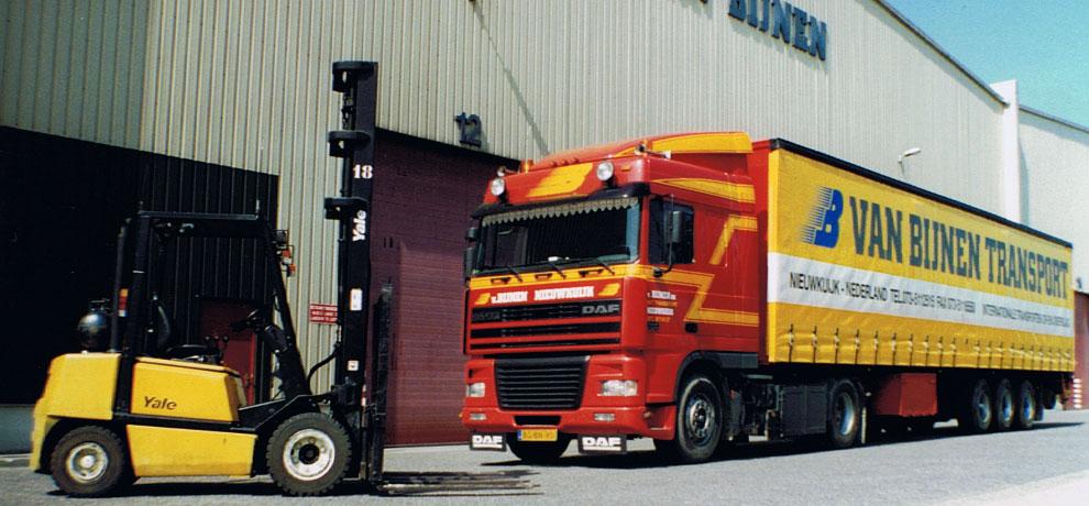 heftruckvrachtwagen