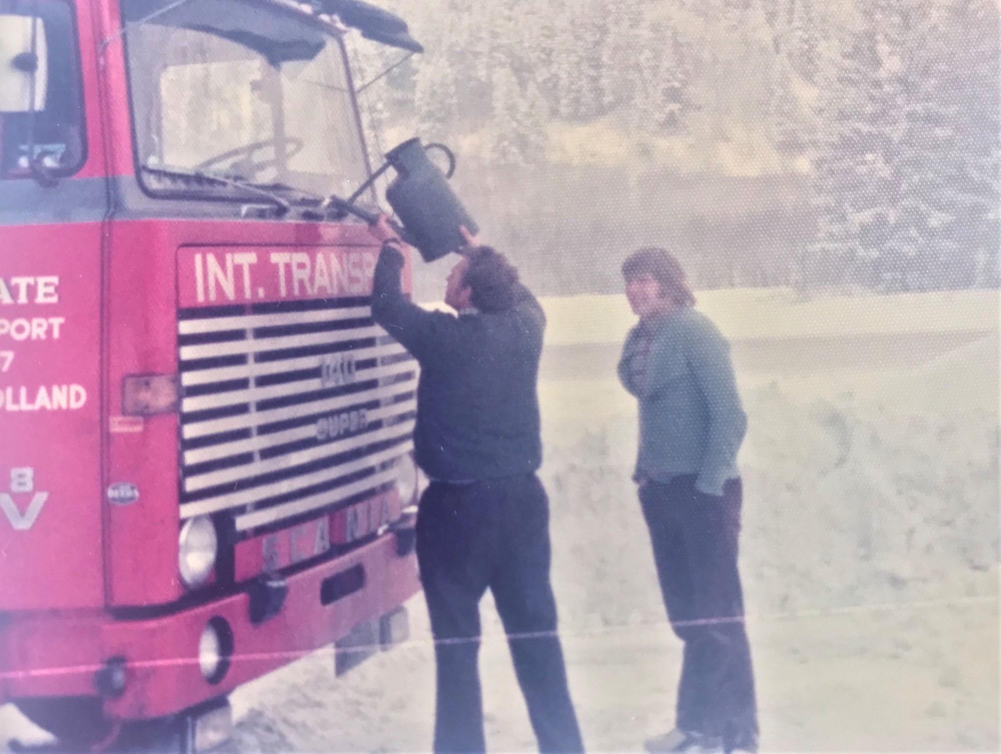 Scania-V8--Gait-Mulder-kwam-altijd-vocht-tekort