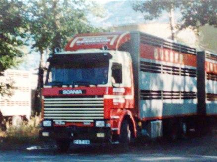 Scania-eerste-rit-naar-Italie-hier-in-Aosta
