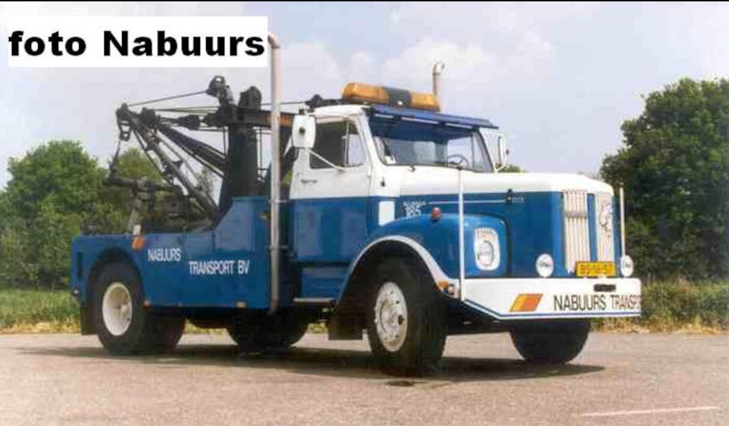 Scania-Vabis-takelwagen