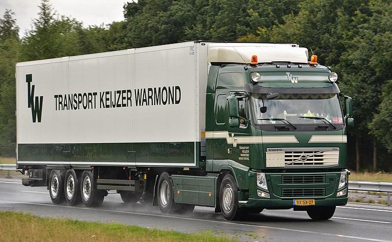 Volvo-met-koel-trailer