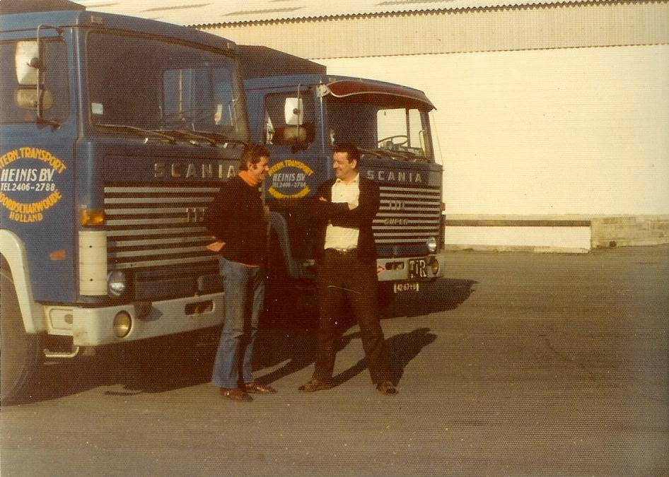 Scania-110-Super-Links-Klaas-Schrooder-rechts-Willem-Schreuder