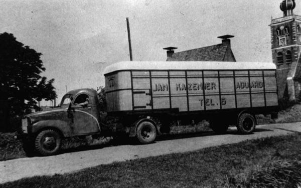 Dumper-met-vee-trailer