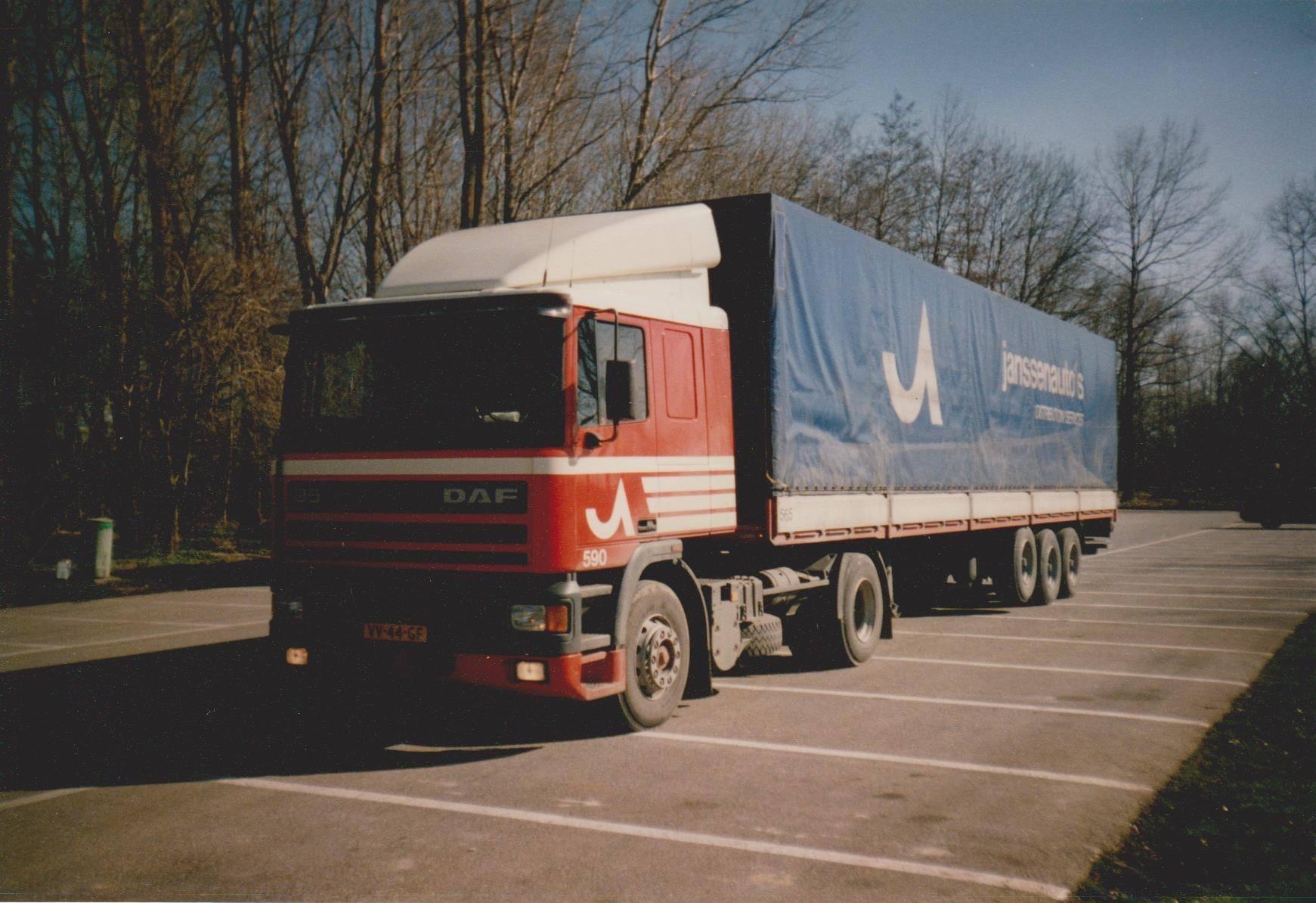 DAF-590-Maikel-Blom-zijn-eerste-wagen