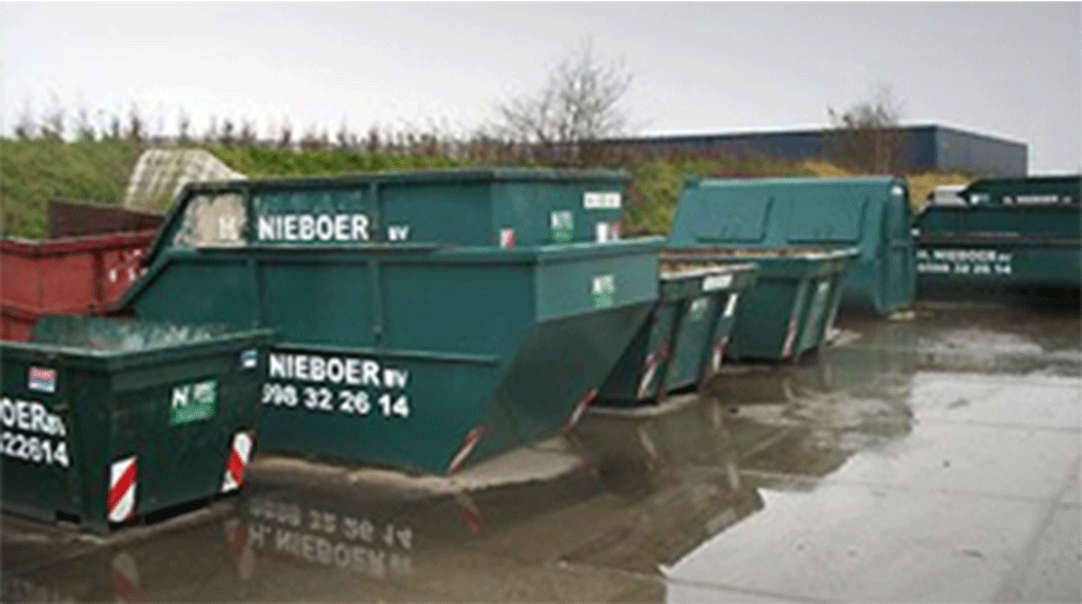 NIEBOER-AFVALCONTAINERS