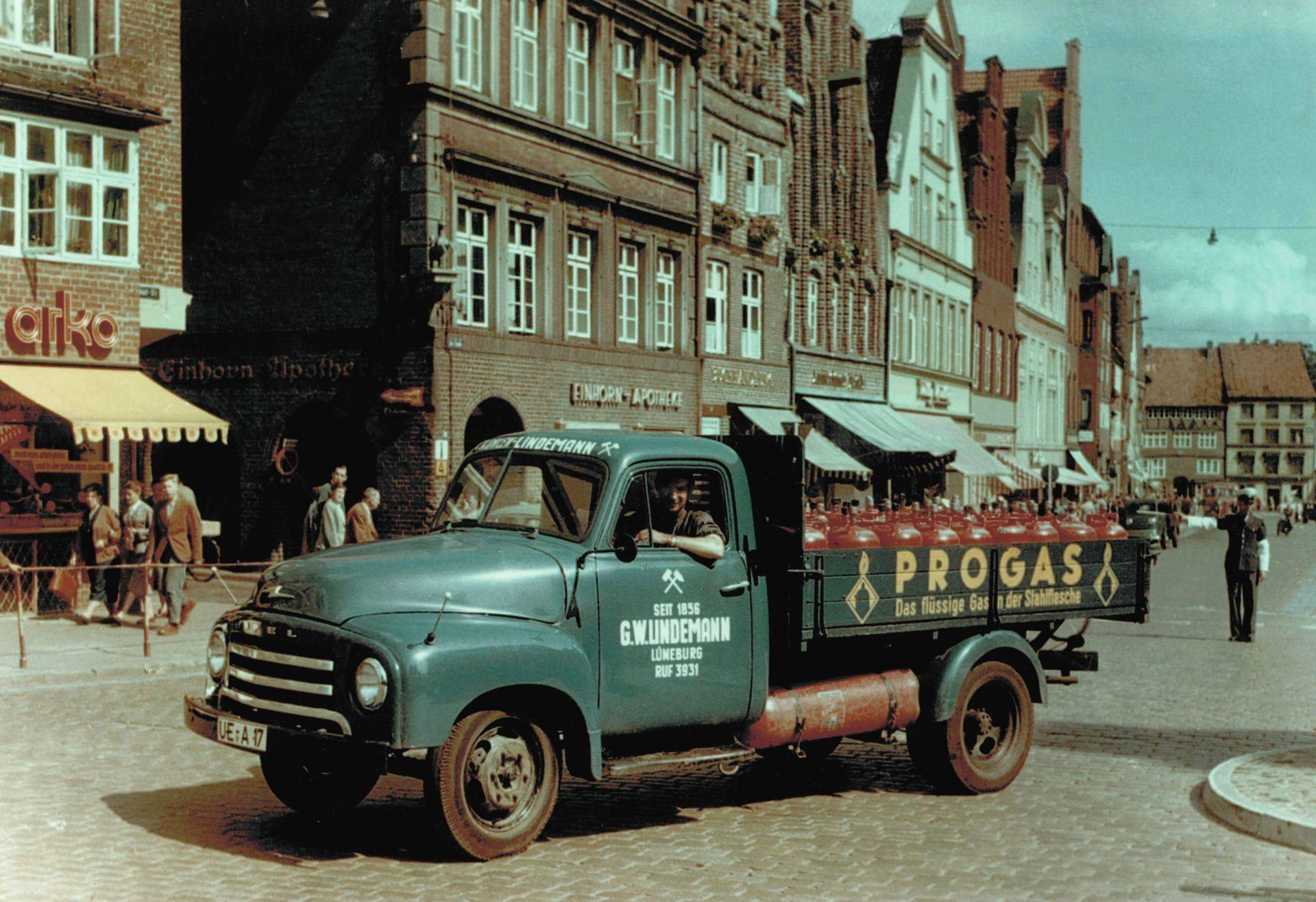 Opel-Blitz-1959-Luneburg-Am-Sande-G-W-Lindemann-Flaschengas-Lieferwagen