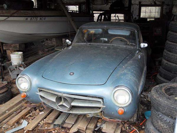 Benz-Barn-Find