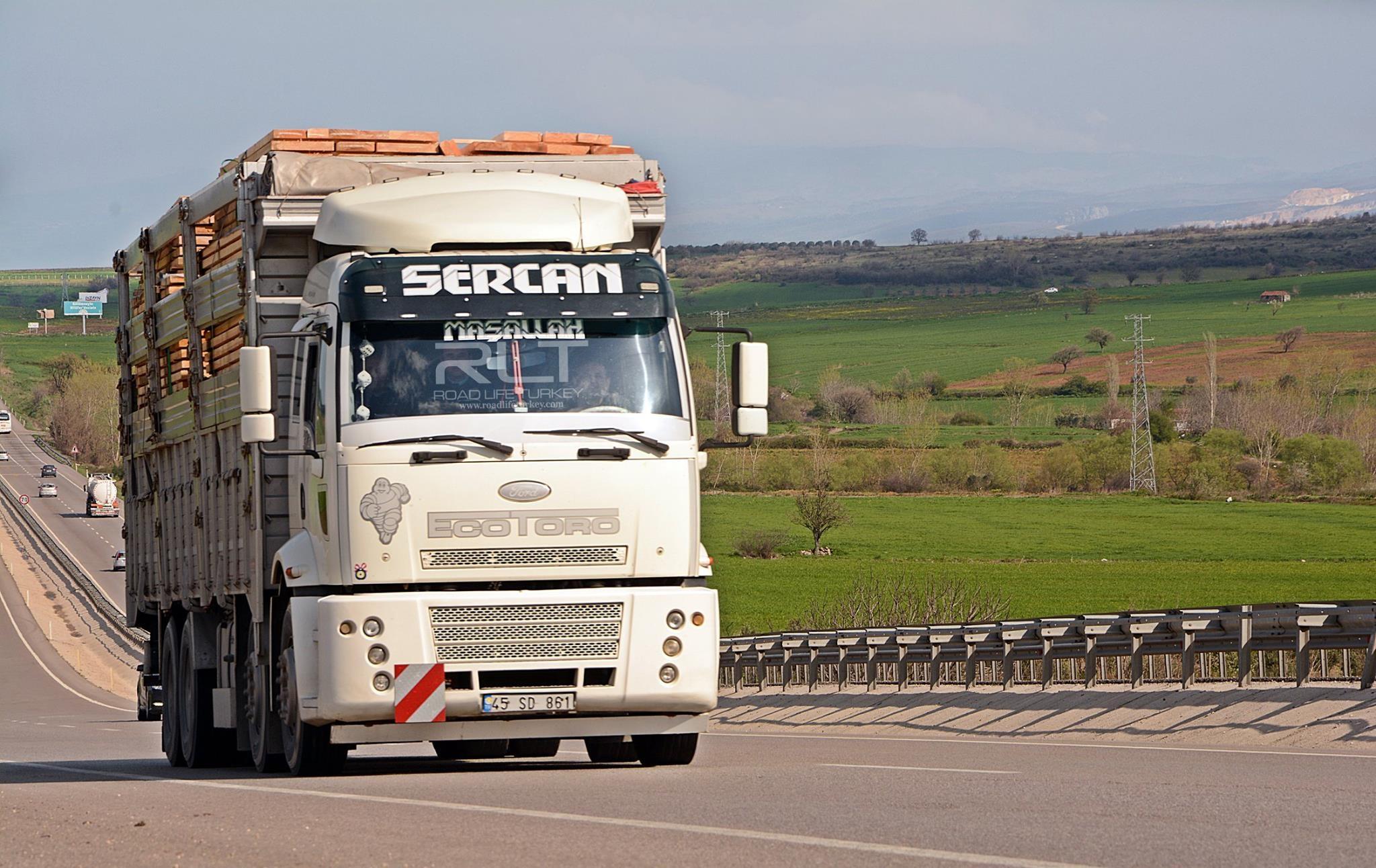 Ford-cargo-bursa---izmir-road