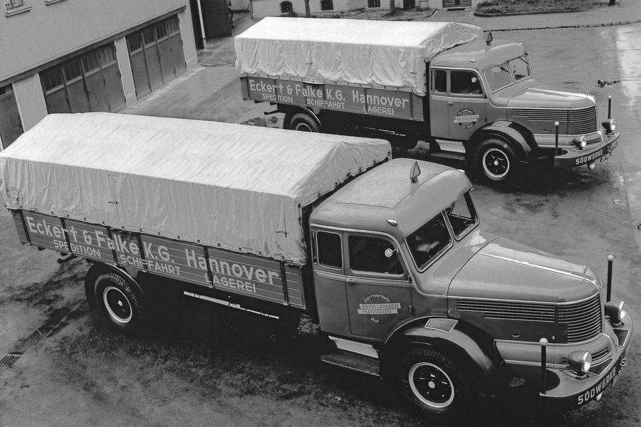 1954-Hannover-Fernverkehr-Erich-Langer-Krupp-Sudwerke-Titan-Typ-SWL-80-210-PS-Langhauber