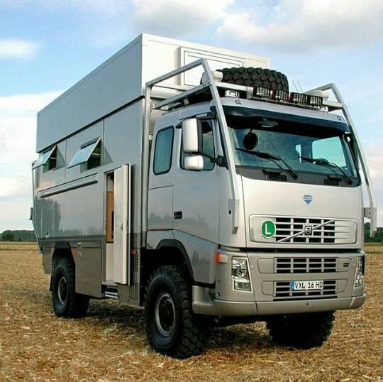 Volvo-Camper