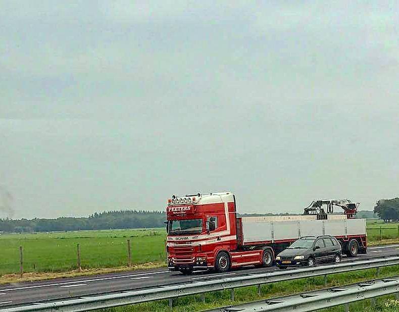Scania-met-laadkraan