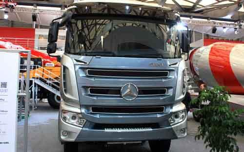 Mercedes-Mixer