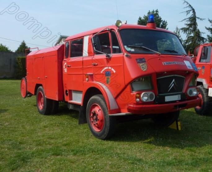 Citroen-Brandweer