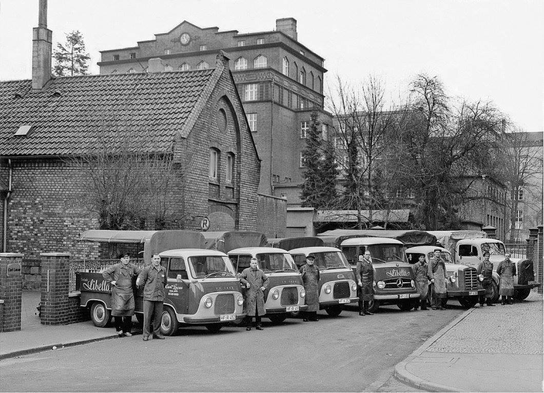 1959-Herford-Fuhrpark-Getrankehandel-Carl-Lucas