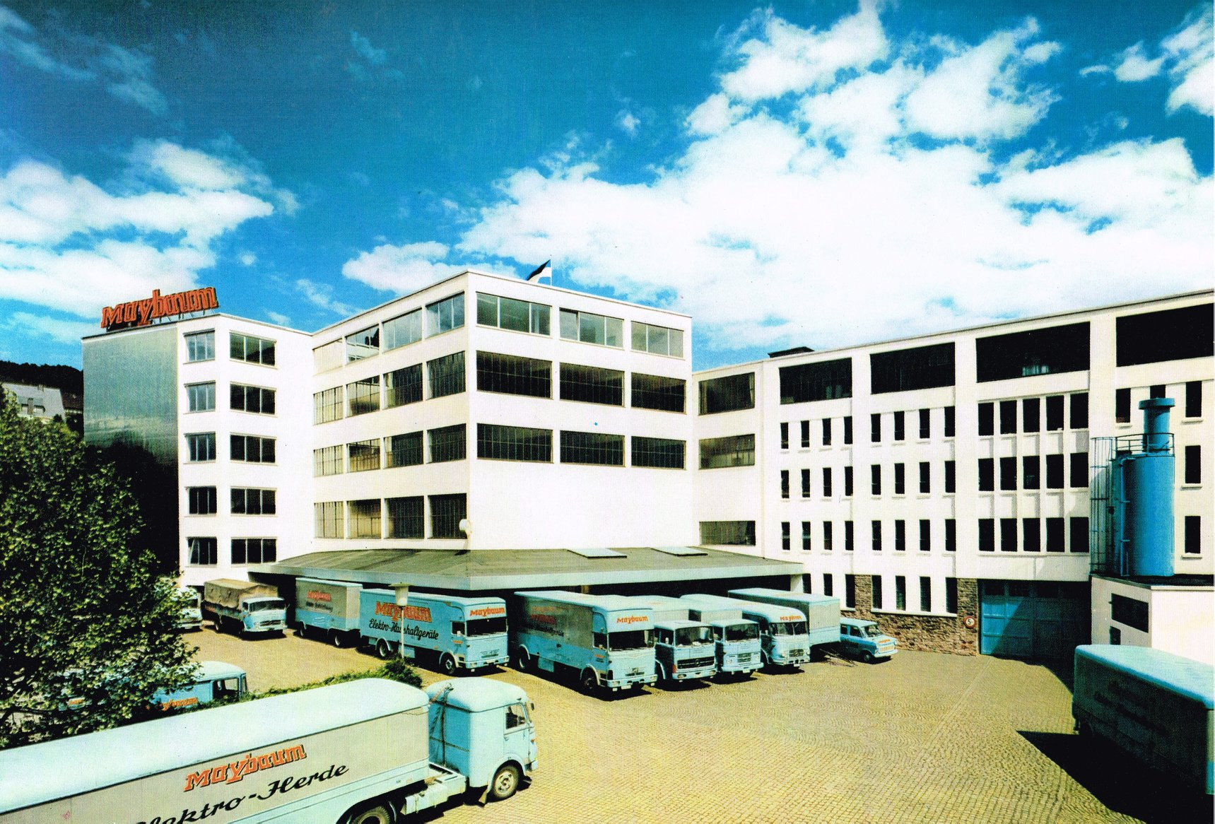 1972-Sundern-Sauerland-Maybaum-Elektrogerate-Verladehof