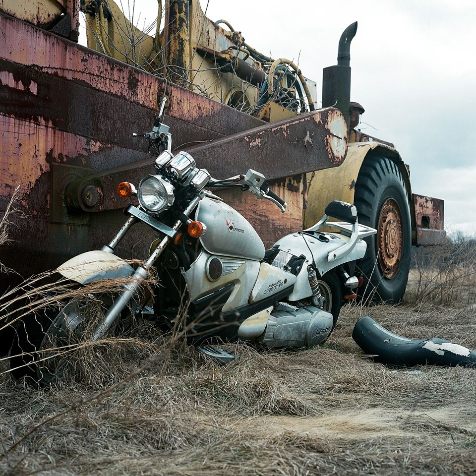 I-had-never-before-seen-a-motorcycle-and-a-scraper-rusting-away-together--growing-old--It-was-romantic--in-a-way-Jay-Sales