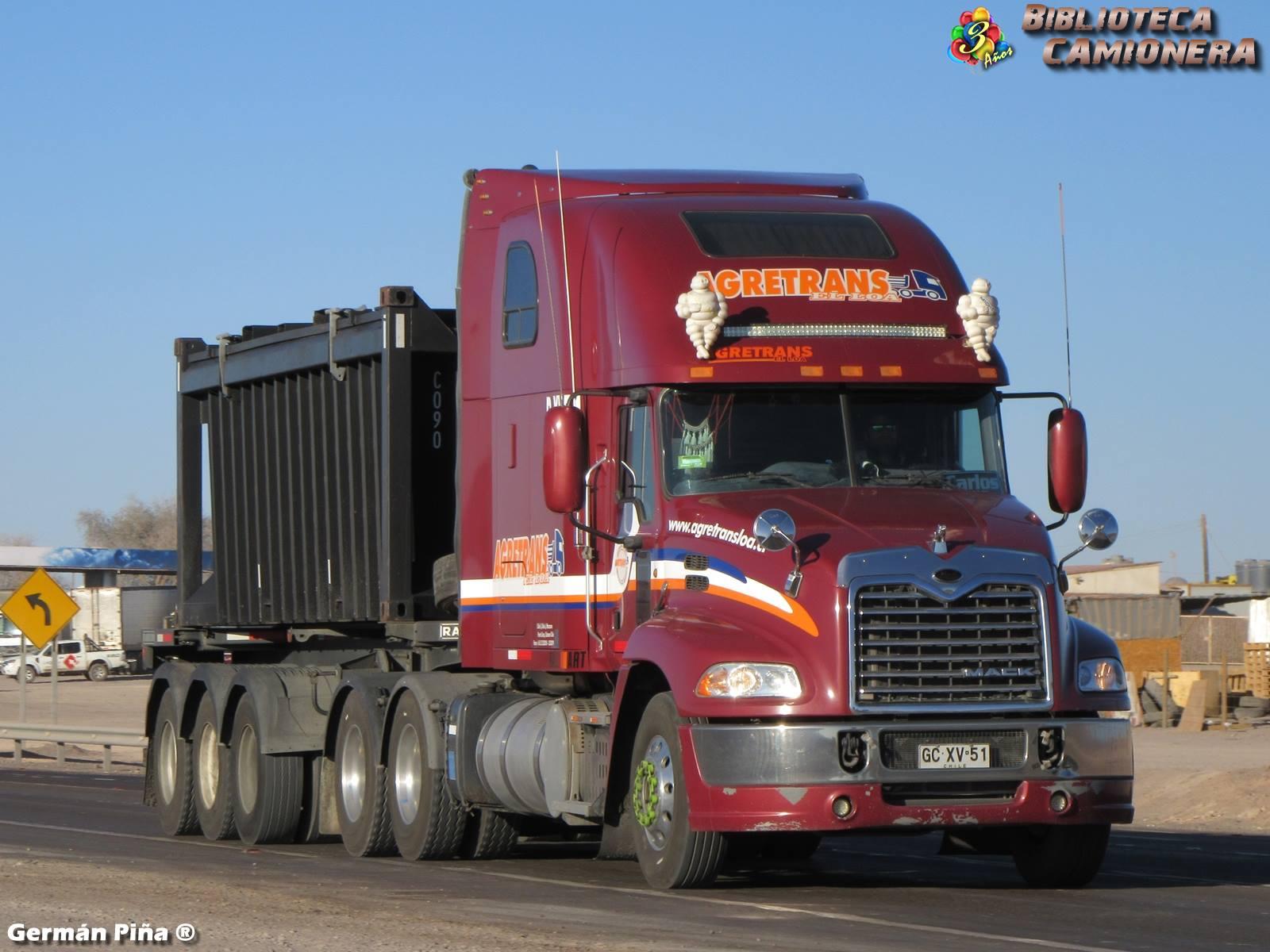 Mack-Pinnacle-CXU-613-High-Rise--AGRETRANS-El-Loa