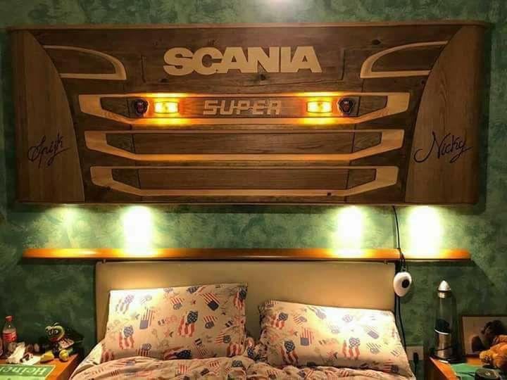 Scania-Bedstee