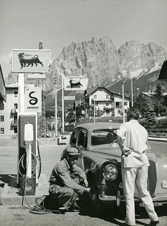 Lancia-Aurekia-AGIP--Cortina-D-Ampezzo