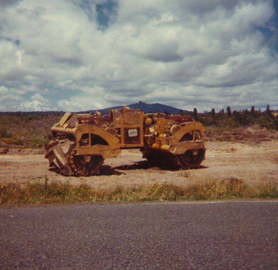 Crushing-roller--Terex-TC-12--Mangakiono-Bennydale-road-1970