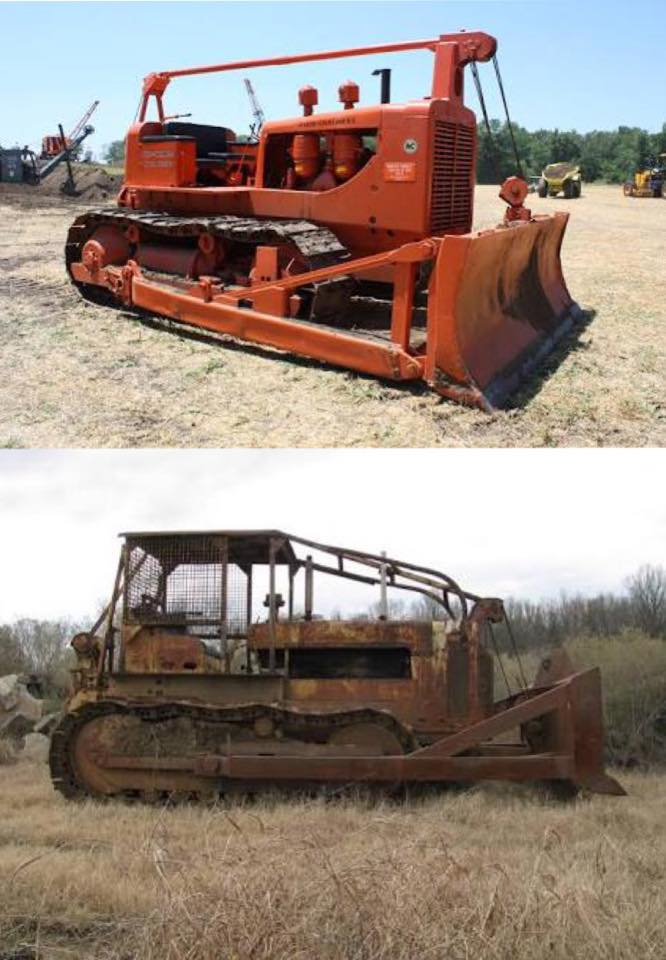 Allis-Chalmers-HD-19--bottom-International-TD-24-Big-machines-in-their-working-days