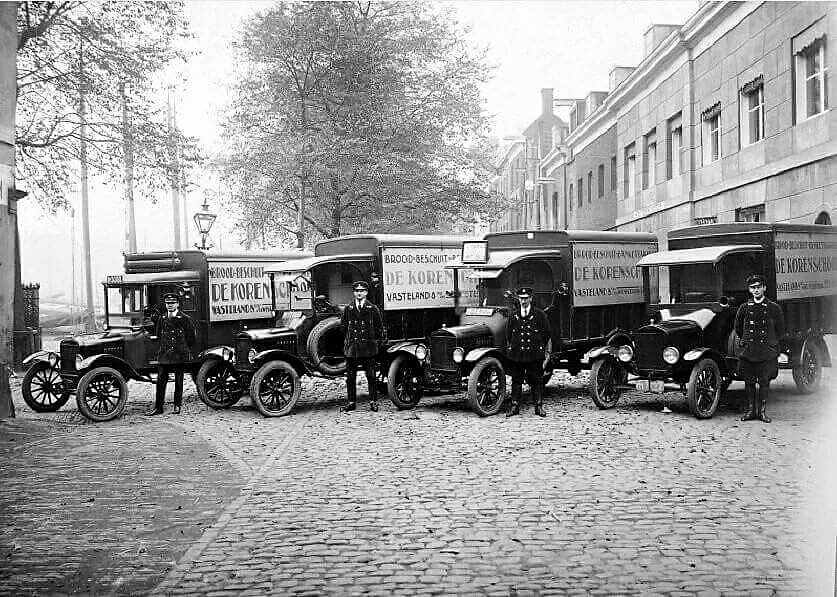 Ford-bakkers-wagens