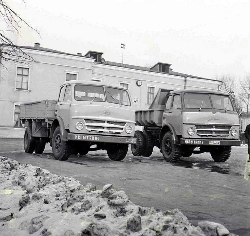 MAZ-500-1958