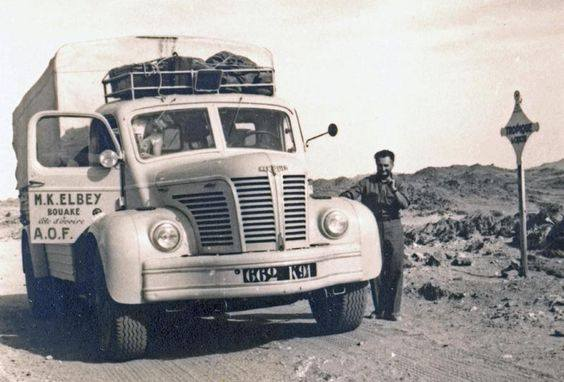 Long-Haul-Trucking---Algeria-to-Ivory-Coast-1951---7500Km