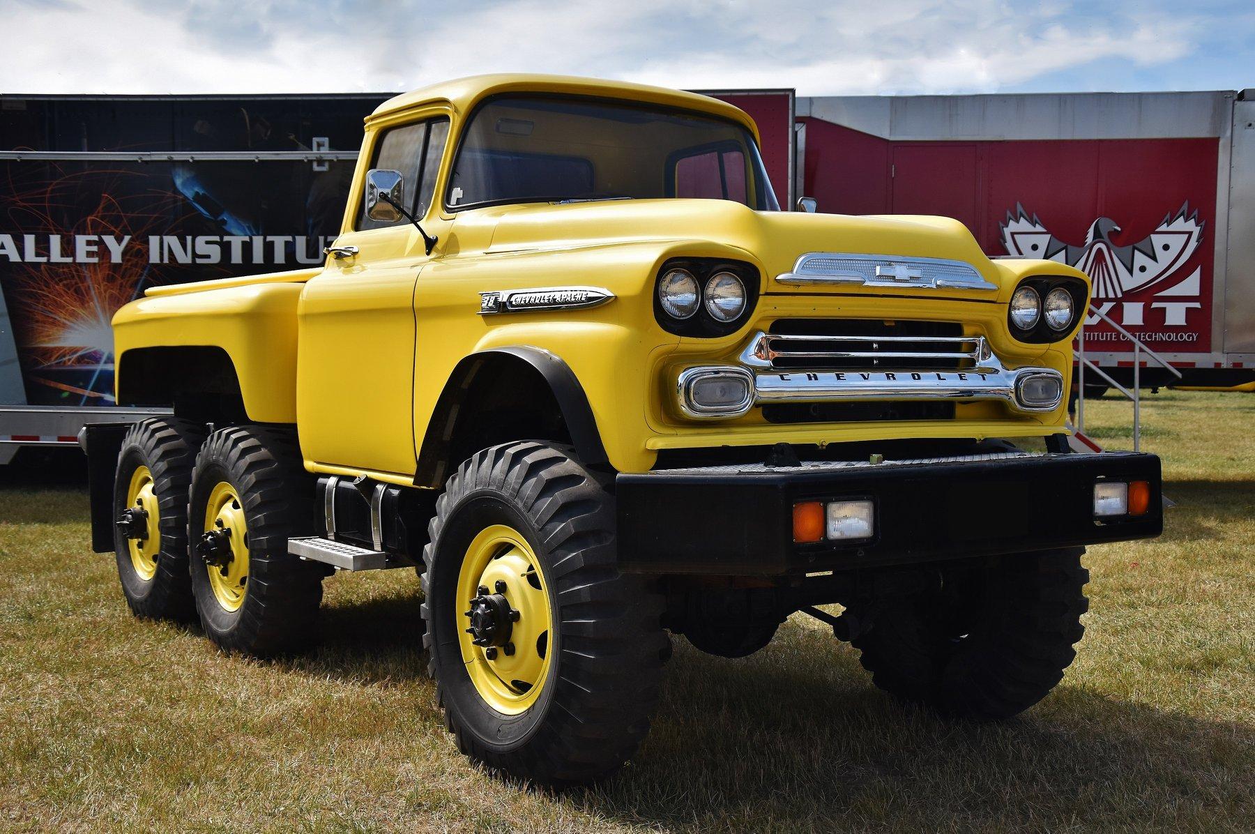 1959-Chevy-Apache-38---6X6-pickup-truck-Kelowna--BC-1