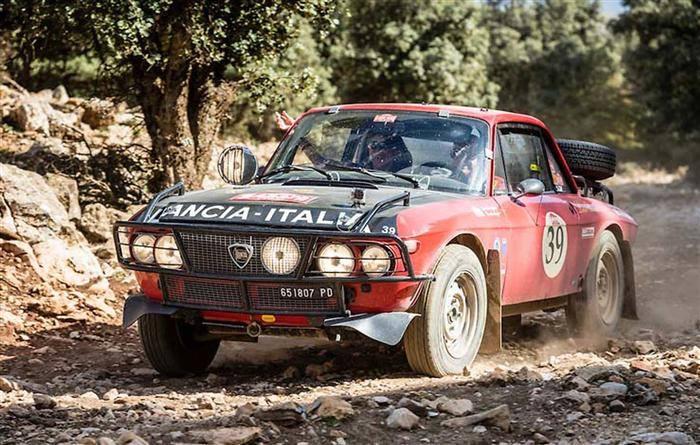Lancia-Rally-car